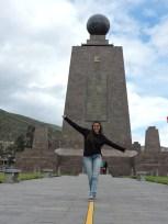 Caminando sobre el Ecuador