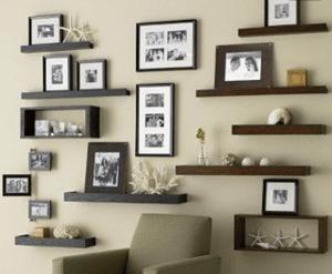 repisas en habitaciones pequeñas