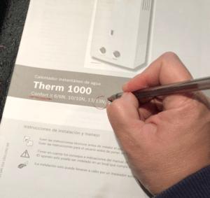 Datos para el mantenimiento