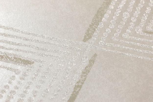 Papel tapiz con perlas de vidrio xander