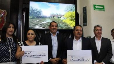 """Photo of Diputados del PAN dicen """"Sí al Puente de la Historia"""""""