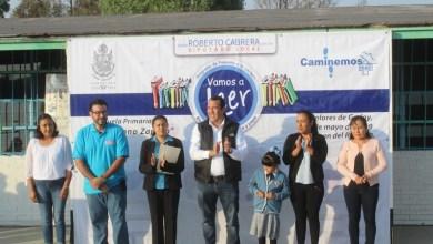 Photo of Roberto Cabrera se suma a promover la lectura