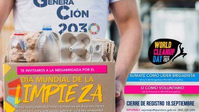 Photo of Querétaro se suma al día mundial de la limpieza