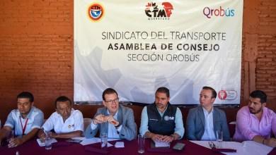 Photo of Se reúne IQT con sindicato del Transporte Qrobús