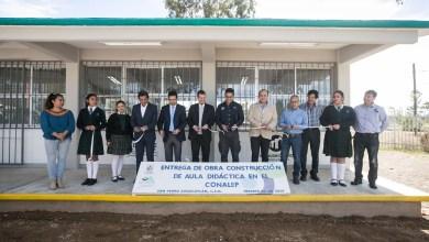 Photo of Gobierno de San Juan entrega aula didáctica al CONALEP