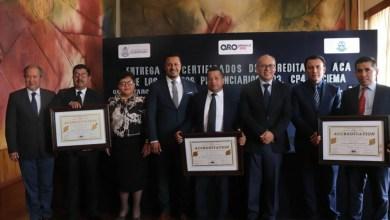 Photo of Entregan Certificaciones ACA a Centros Penitenciarios de Querétaro