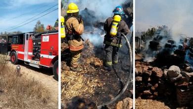 Photo of Casa estuvo en riesgo de quemarse en Santillán