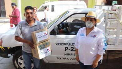 Photo of Entrega Tolimán apoyos a transportistas