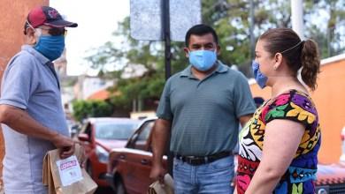 Photo of Entrega Chely Amador kits antivirales a taxistas