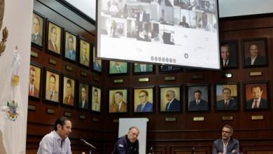 Photo of Participa Francisco Domínguez en reunión con representantes del gobierno federal