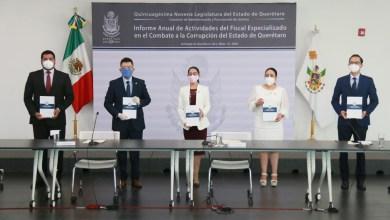 Photo of La Fiscalía de Combate a la Corrupción entregó informe de actividades