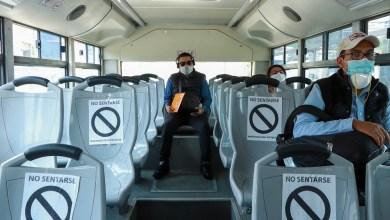 Photo of Refuerzan medidas preventivas en trasporte público por Covid19