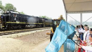 Photo of Da AMLO banderazo de salida a tercer tramo de construcción de Tren Maya