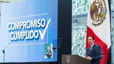 Photo of Pancho Domínguez enlistó los logros alcanzados por su administración