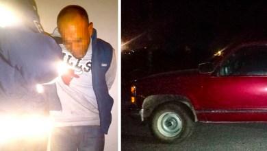 Photo of Detienen a sujeto con camioneta robada