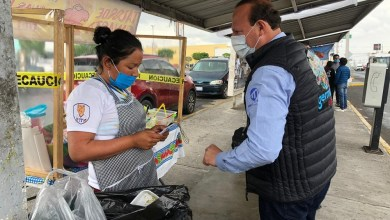 Photo of Germain Garfias realiza recorrido por comercios de Río Moctezuma