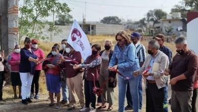 Photo of Entrega Elvia Montes ampliación de red de drenaje sanitario en la localidad El Sindicato