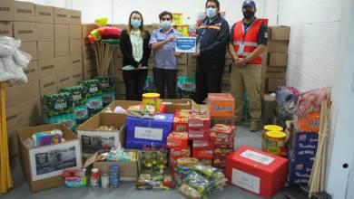 Photo of UAQ recibe donativo para Tabasco de parte de Samsung Querétaro