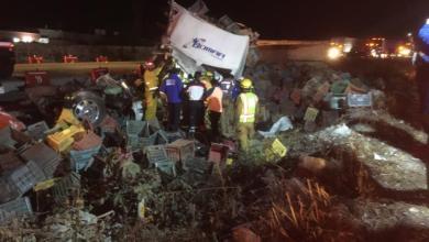 Photo of Accidente de traileres causó «despapaye» en la México-Queretaro