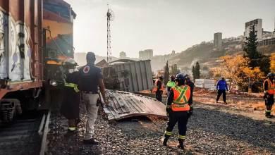 Photo of Se descarrilaron vagones del tren en Querétaro