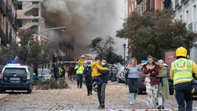 Photo of Explosión en edificio en Madrid, España dejó 3 muertos y 10 heridos