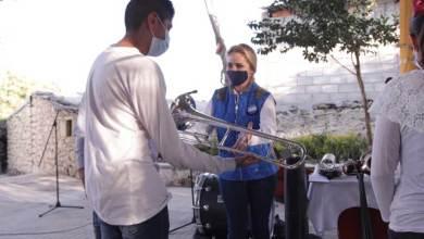 Photo of SECULT entregó instrumentos musicales a jóvenes de San Juan del Río