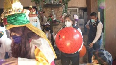 Photo of Norma Mejía lleva alegría a la niñez en Día de Reyes Magos