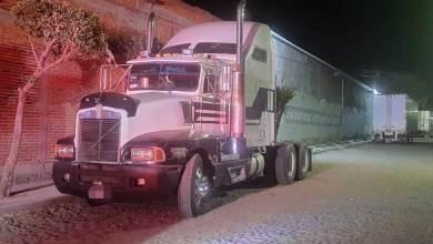 Photo of Recuperan tractocamión robado en San Juan del Río