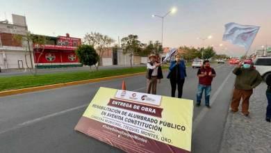 Photo of Rehabilitan alumbrado público en cabecera de Ezequiel Montes