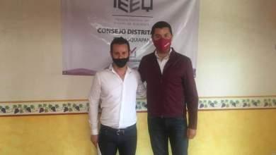 Photo of Christian Orihuela se registró por MORENA a la diputación del distrito XI