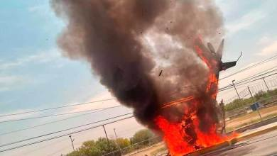 Photo of Helicóptero se desploma en Apodaca; Nuevo León