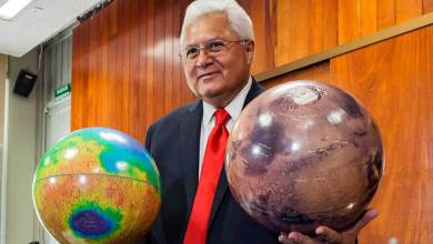 """Photo of Montaña de Marte «Rafael Navarro"""" es legado de la humanidad"""