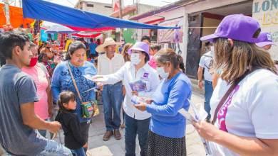 Photo of Mary ibarra lleva sus propuestas a Santiago Mexquititlán