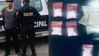 Photo of Policía de Pedro Escobedo detuvo a narcomenudista