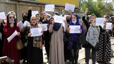 Photo of Talibanes disparan al aire para terminar protesta de mujeres