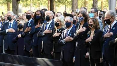 Photo of Conmemoran aniversario del 11 de septiembre; Biden estuvo acompañado por expresidentes