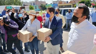 Photo of Entregan apoyos en Los Nogales