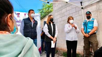 Photo of Entrega Toño Mejía y fundación Telmex apoyo a familias de Tequisquiapan