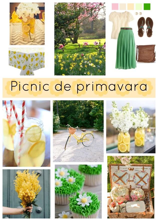 ama - mood board picnic de primavara