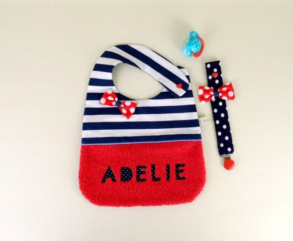 bavoir-personnalisable-prenom-bebe-adelie-style-marin-rouge-blanc-bleu