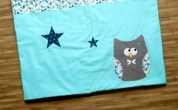 liste-naissance-sur-mesure-en-ligne-personnalisee-theme-hibou-chouette-gris-bleu-turquoise-baby-gift-shower-blanket-personalized-name