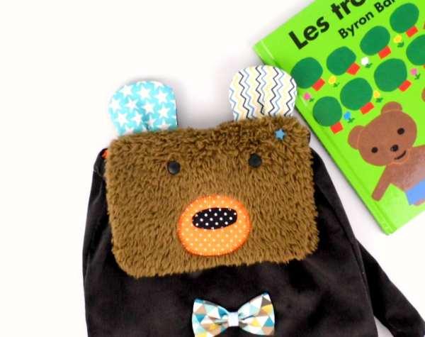 sac-a-dos-bebe-personnalise-prenom-jules-ours-brun-bleu-petrole-marron-orange-sac-a-gouter-rentree-ecole-maternelle-cartable-personnalisable