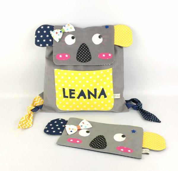 sac-a-dos-maternelle-koala-personnalise-prenom-leana-trousse-personnalisable-prenom-couleurs-cadeau-enfant-3-ans