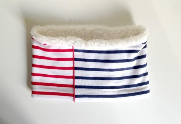 col-echarpe-tube-polaire-rouge-bleu-blanc-marin-navy-col-enfant-ecole-primaire