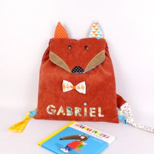 sac-gabriel-personnalise-prenom-renard-cartable-maternelle-personnalisable-fox-school-backpack-name