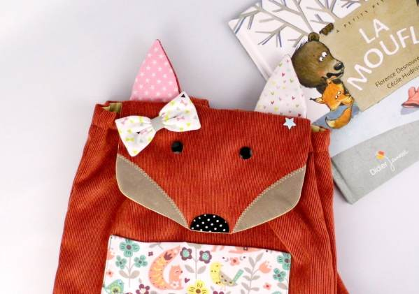 sac-renard-personnalisable-prenom-enfant-ecole-maternelle-bebe-creche-nounou-sac-a-dos-personnalise-prenom-roxane-rose-corail-vert-menthe-preschool-backpack-fox-personnalized-name-roxane