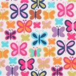 blanc-papillons-multicolores