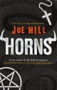 Horns by Joe Hill, book cover
