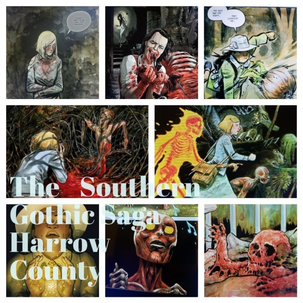Harrow county images