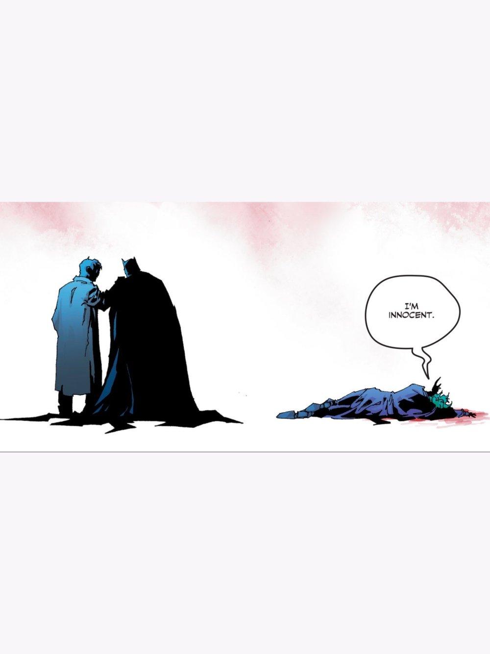 Joker pleading his innocence